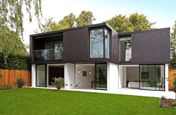 Modern Brick Houses   Small House Plans Modern on
