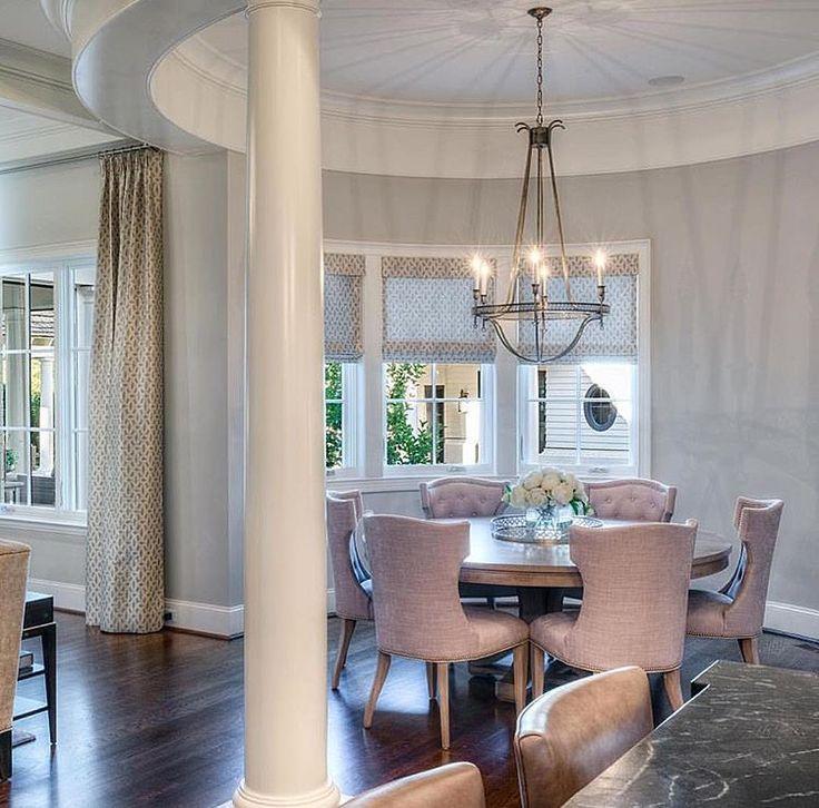Einrichtung rundes esszimmer runde tische beruhigende farben innenarchitektur portfolios frühstücksecken esszimmer zukunft innenräume