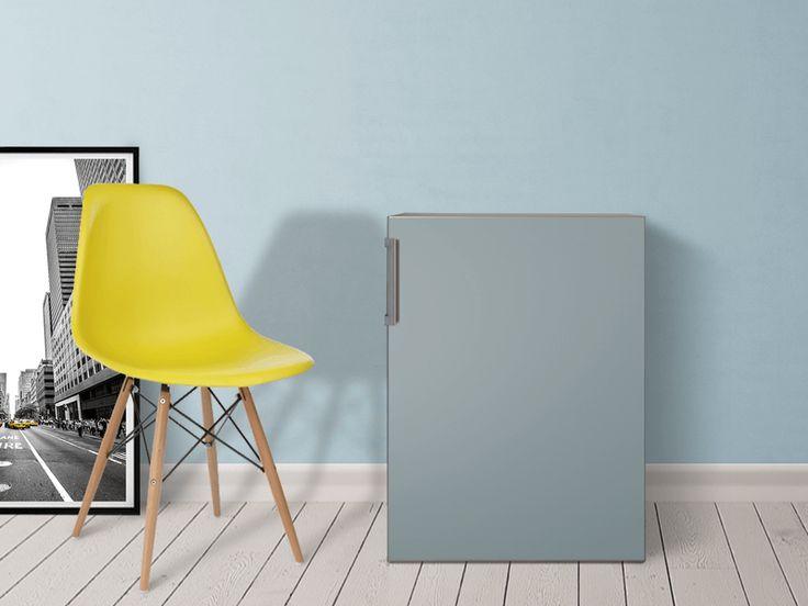 Designfolie Blaugrau 3 für dein Kühlschrank 60x80 cm