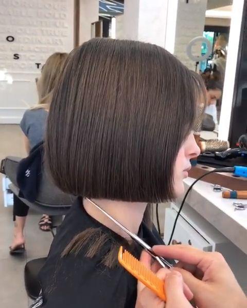 Amazing Soft Bob Haircut Transformation