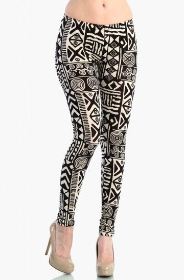 Aztec Leggings: Clothing Stuff, Aztecleg Www 2Dayslook Com, Aztec Leggings, Wwwlovemelrosecom, Black White, Jamesfaith712 Aztecleg, Clothing Th, Pants Legs, Aztec Legs