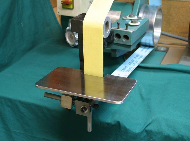 Belt grinder contact wheel diy