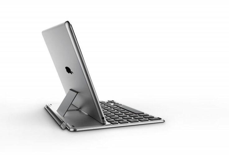 RAPOO TK910 Exclusive Keyboard Cover i Sølv - Apple iPad Air 1 & 2 | iPhoneGadget.dk - ID 215145