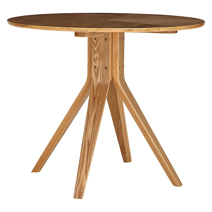 Buy Wales & Wales for John Lewis Radar 4 Seater Round Dining Table, Oak Online at johnlewis.com