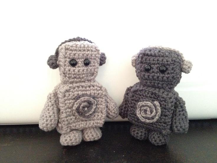 77 best images about Crochet - Robots ! on Pinterest ...