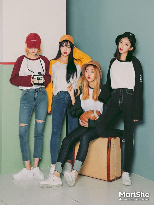 Marish ♥ fashion trend book!  Korean Fashion Similar Look Pin by Aki Warinda