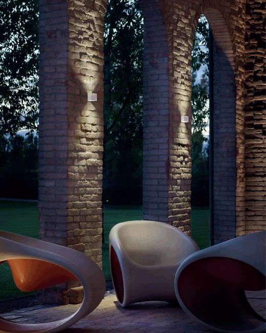 """Per"" #LED #outdoor #wall #lamp #light #ambient #illumination #modern #style #home #Besanza"