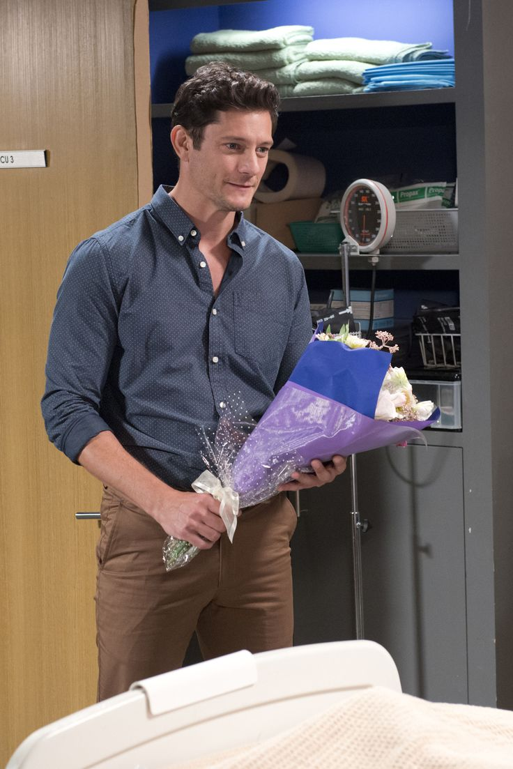 Wednesday, May 31: Finn visits Susan with some flowers  - DigitalSpy.com