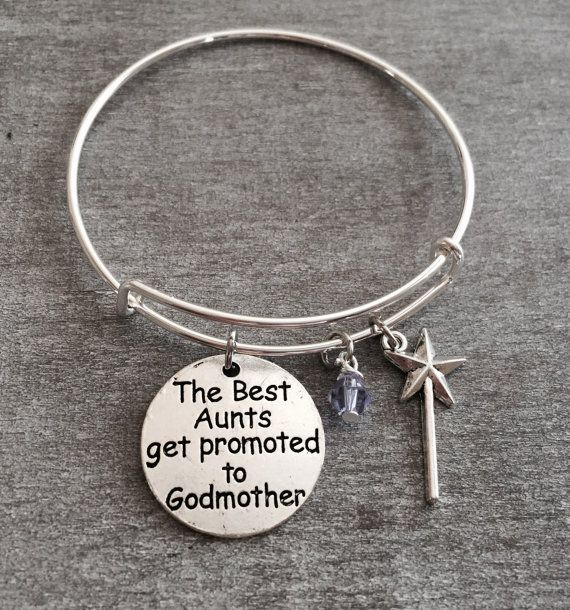 The Best Aunts get promoted to Godmother Godmother Gift by SAjolie
