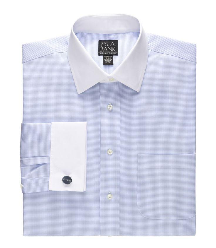 Best 25 french cuff dress shirts ideas on pinterest for Big and tall french cuff dress shirts
