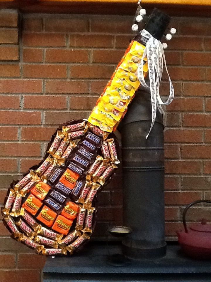 Candy Guitar | Just 4 U Gifts & Greetings | Pinterest