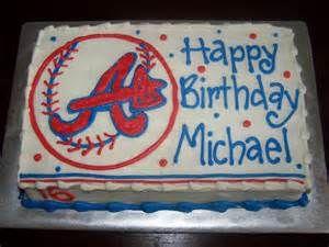 Atlanta Braves Baseball Themed
