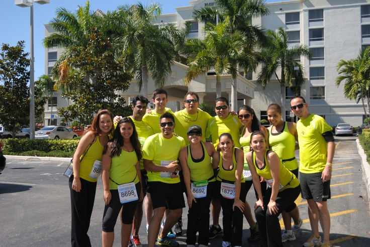 74 best optime5krun images on pinterest exercises for Miami mercedes benz corporate run
