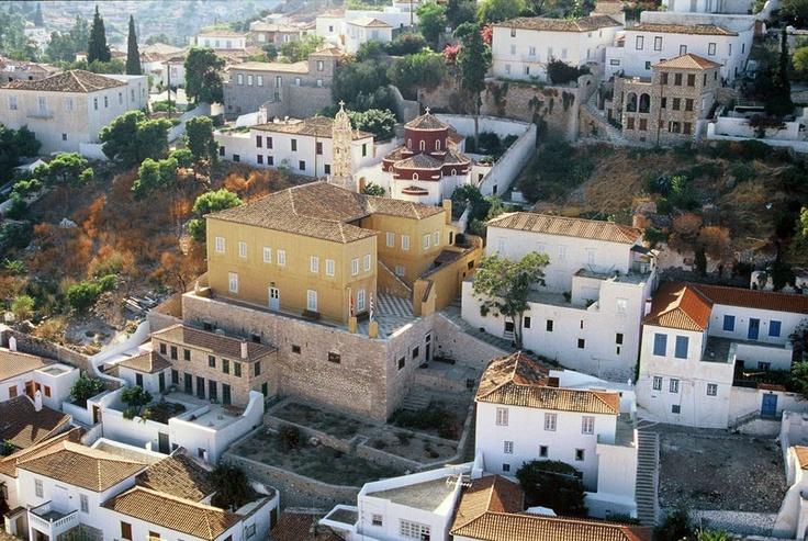 Hydra - Historic mansion of Lazaros Kountouriotis  by www.hydra.gr/en/