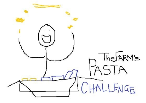 The day TheFARM had a pasta cookoff.