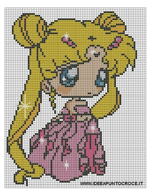 Sailor Moon pattern by syra1974 on DeviantArt