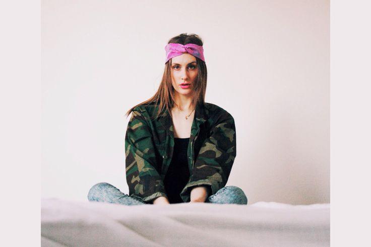 Silk turban, rose // www.vvagabond.com