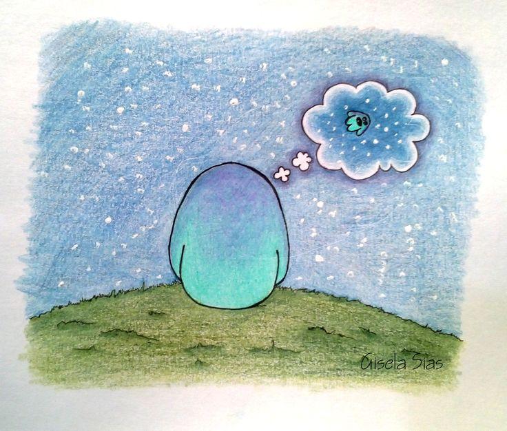 Gregorio Monstruito #dibujo #draw #sketch #ilustración