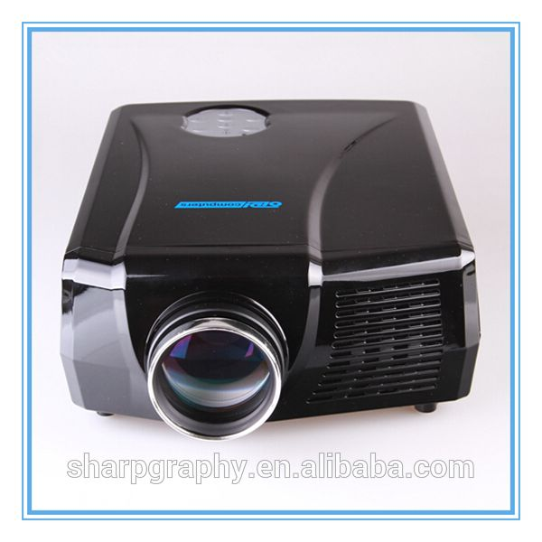 Check out this product on Alibaba.com APP 2600 Lumens Full HD LED Projektor Mini Portable Digital 1080p Projector LX768 3D 4K Projectors