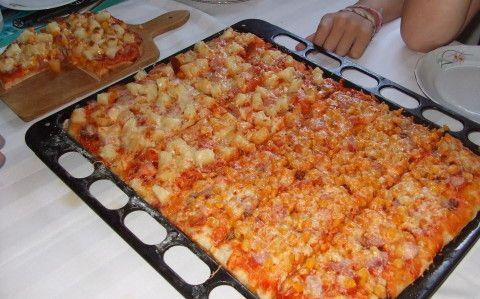 Pizza recept fotóval