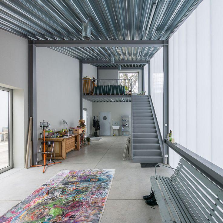 Piotr Brzoza Architekten GmbH, Projekt Praga, Jakub Certowicz · Sculptor's Studio · Divisare