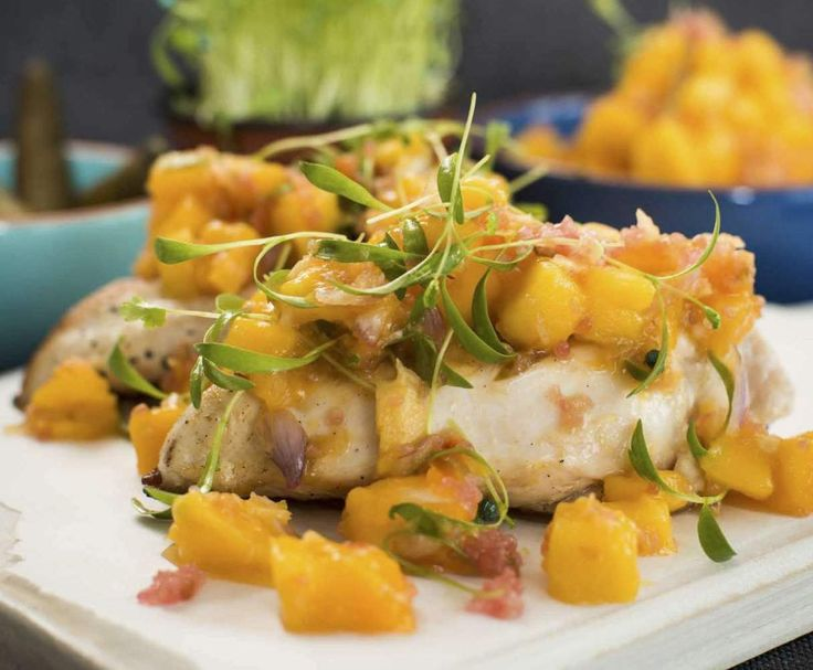 Recipe Mango salsa with lime bursts by alycealexandra - Recipe of category Side dishes