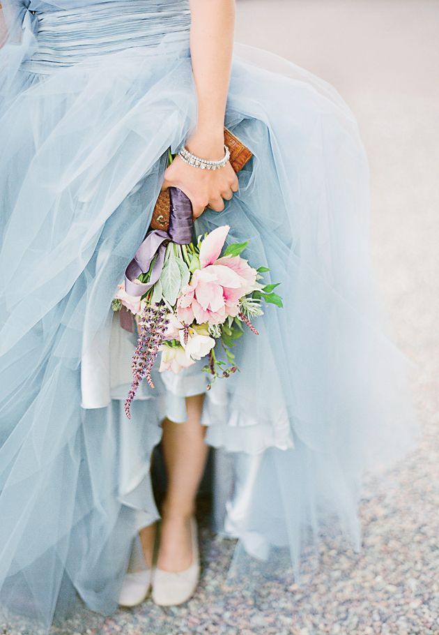 Is pale pink and blue an appropriate color palette for a for Dresses suitable for a wedding