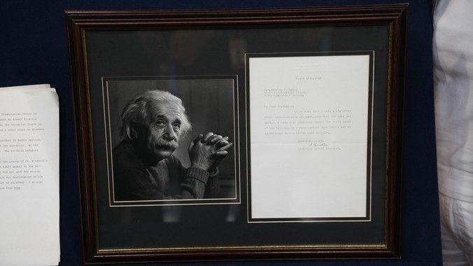 1943 Albert Einstein Letter   Antiques Roadshow   PBS