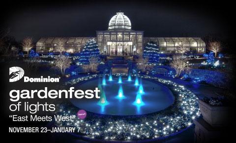 Dominion GardenFest of Lights 2012 | Lewis Ginter Botanical Garden in Richmond VA. Theme & 131 best Dominion GardenFest of Lights images on Pinterest ...