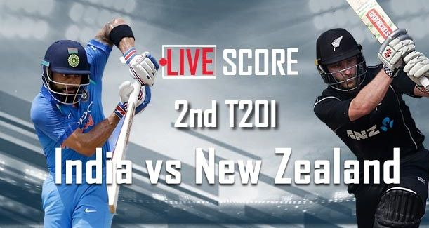 India vs New Zealand 2nd T20 2017 Live Cricket Score, Rohit pulls a short conveyance from Milne over mid-on for four and afterward both batsmen take a solitary each for a six-keep running over.