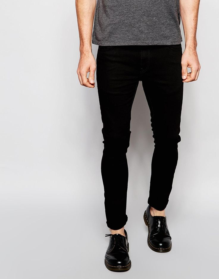 River+Island+Skinny+Jeans+In+Black