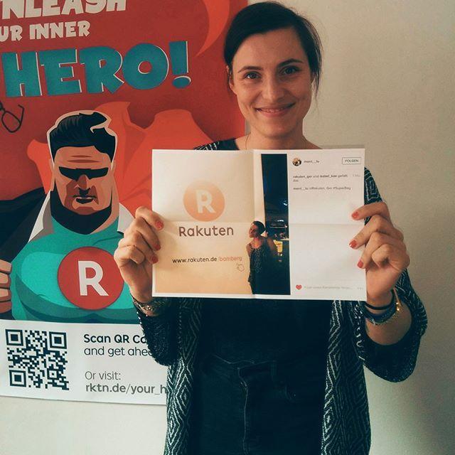 Yeehaw! Unser #SuperBag Gewinnspiel ist beendet und wir haben einen Instagram Gewinner ausgelost! Gewonnen hat @morri_lu Herzlichen Glückwunsch! Schick uns Deine Postanschrift an marketing@rakuten.de und Dein Bamster macht sich auf den Weg zu Dir! Den anderen Gewinner gibt es auf Twitter zu sehen.  Vielen Dank auch an alle anderen für die Teilnahme! Ihr seid großartig. #Bamster #Teufel #Bamberg #IhrseidalleGewinner