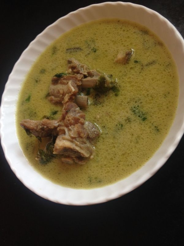 Hyderabadi Marag Recipe or Mutton Bones Stew  is a soup recipe  made with tender mutton attached to bones which has been getting quite popular in hyderabad for over years.