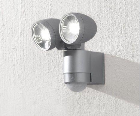 $99.95   LEDlux Helley II Twin Led Spot Light With Sensor In Silver