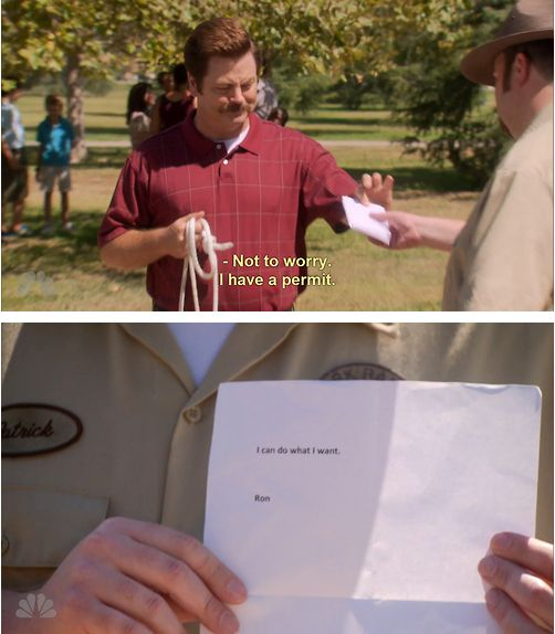 18 Of The Best Ron Swanson Quotes. Possibly the greatest thing on the Internet