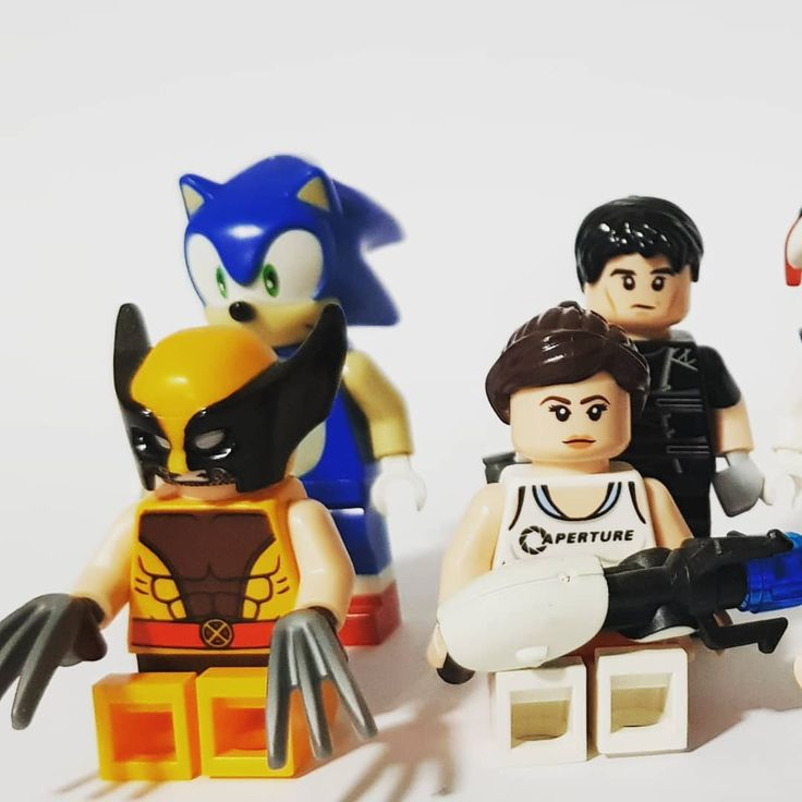 Here are some honorable mentions  Wolverine (with cowl) Sonic the hedgehog Chel (Portal 2) Ethan Hunt Mr Stay Puft Marshmallow Man Me  Marty Mcfly  Superman (mighty micro)  #lego #legos #top10 #cool #photography #xmen #sonic #sonicthehedgehog #chel #portal #mission #missionimpossible #tomcruise #ghostbusters #mrstaypuft #backtothefuture #mightymicro #bravo #legomightymicro #love #art #legoart #comics #movies #videogames #toys #food