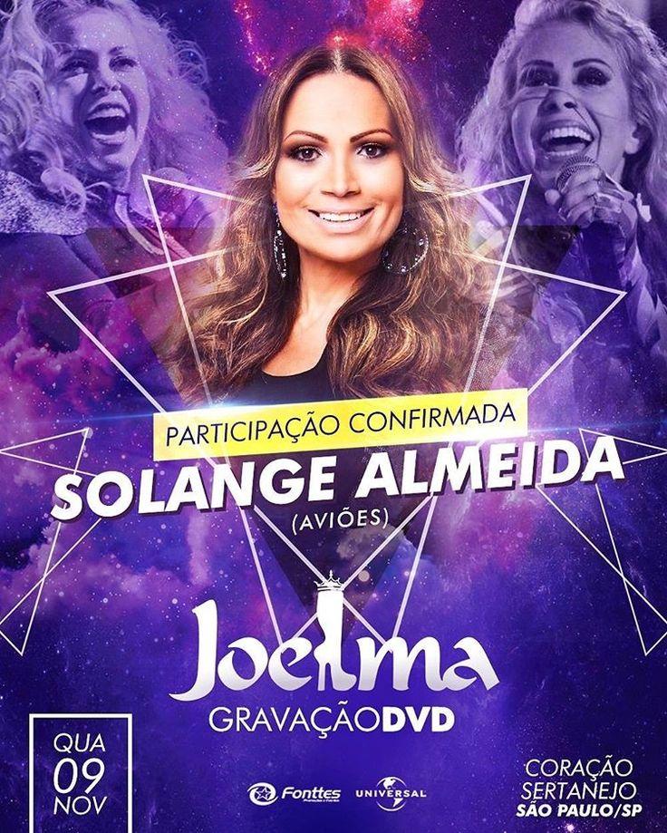 Solange Almeida, da Aviões do Forró, participa de novo DVD de Joelma   Por: Redação /feroz slabo    Os fãs de Joelma estão cada vez mais ...