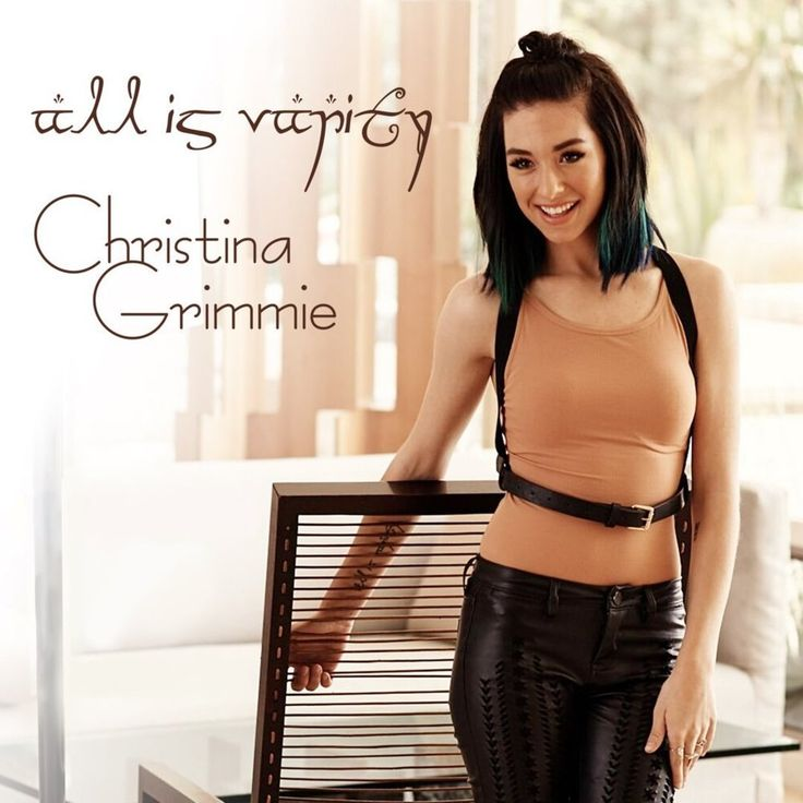 Christina Grimmie - All Is Vanity Lyrics and Tracklist | Genius
