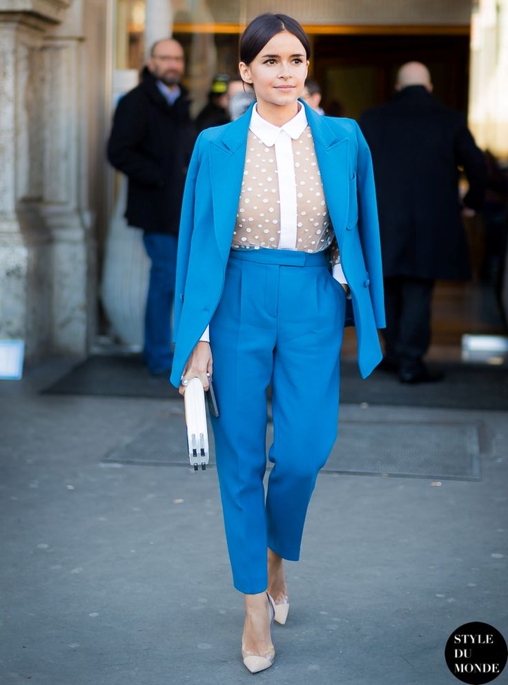 Best 25  Electric blue suit ideas on Pinterest | Marie claire ...