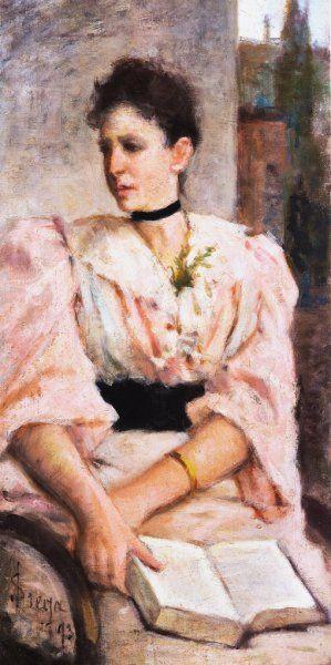 Lega Silvestro Ritratto di Paola Bandini, 1893