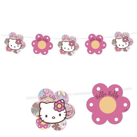 Guirlande Cartonnée Hello Kitty 4M
