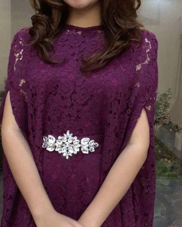 KEMALA PRADA BURGUNDY (inner+pashmina) ✨SOLDOUT✨ IDR 999.000 // allsize ada tali didalamnya // prada lace