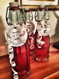 Cranberry & Orange Vodka