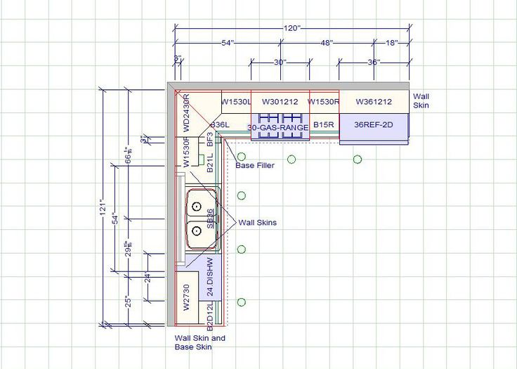 Typical Kitchen Island Dimensions 10 X 12 Kitchen Layout | 10 X 10 Standard Kitchen