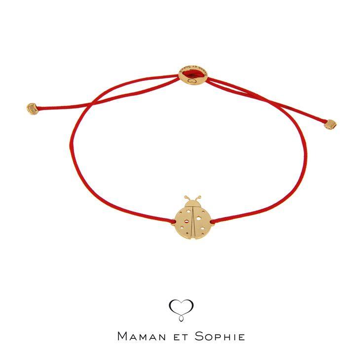 """Acquista il """"bracciale di filo Coccinella"""" della collezione Animal Spirit direttamente online.collezione=53&p=2"""