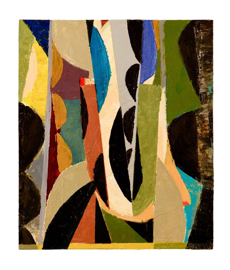 Peter Ramon Studio Abstract LandscapePainting