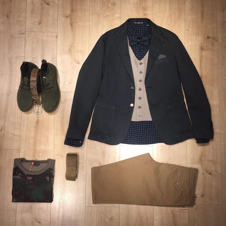 Earth-toned smart casual look!