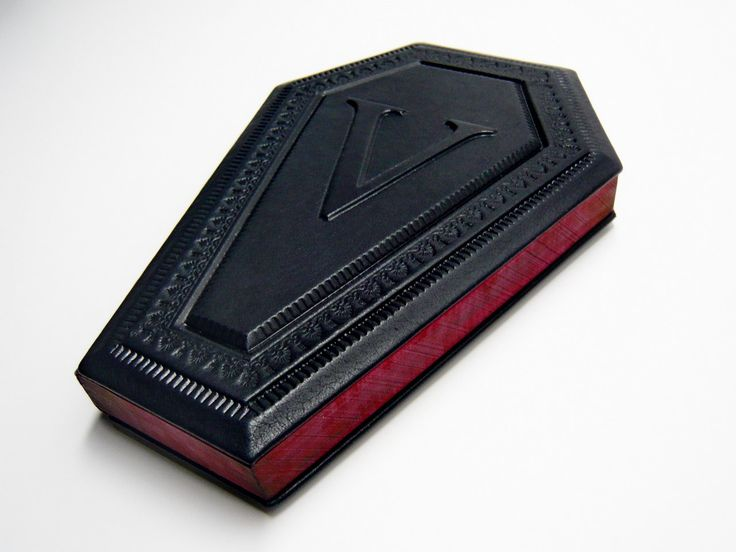 The Vampire's Coffin journal in gift box