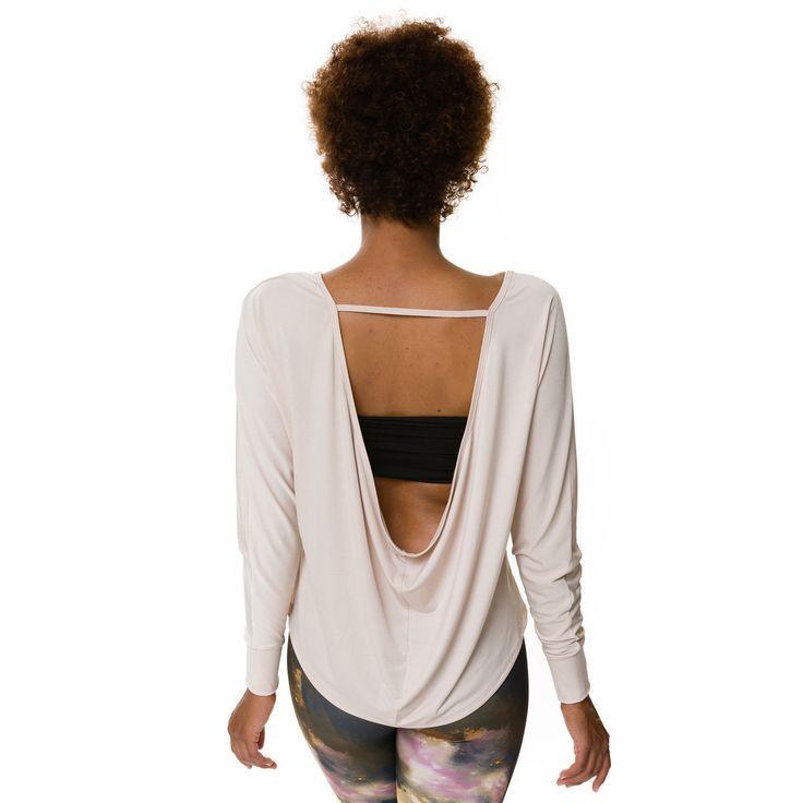 Onzie Scoop Back Sleeve Top - Hot Yoga Clothing, Bikram Yoga Clothes, Core Power Yoga
