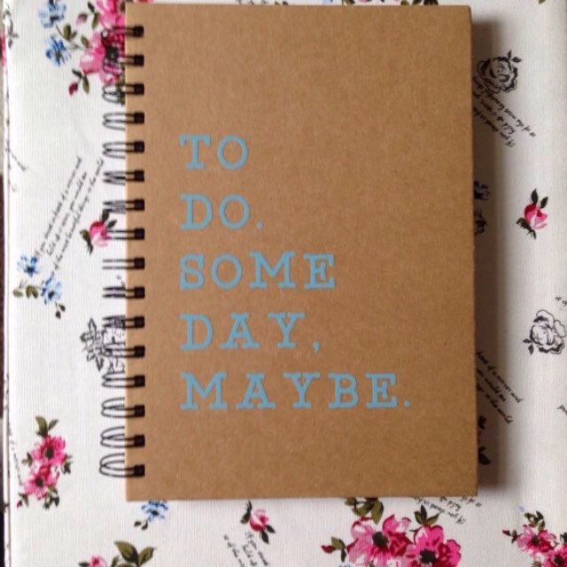 Are you forgetful? Need a little reminding now and again? Then this is perfect for you ;)